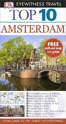 DK Eyewitness Top 10 Travel Guide Amsterdam - DK Eyewitness Travel Guide (Paperback)