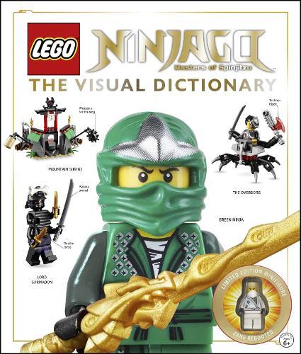 LEGO (R) Ninjago The Visual Dictionary: Includes Zane Rebooted Minifigure (Hardback)