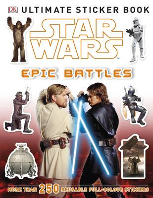 Star Wars Epic Battles Ultimate Sticker Book - Ultimate Stickers (Paperback)