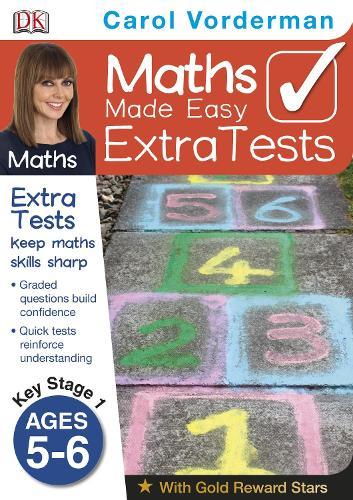 Maths Made Easy Extra Tests Ages 5-6 Key Stage 1 (Paperback)
