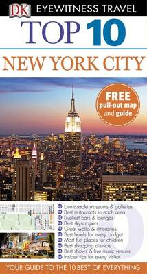 DK Eyewitness Top 10 Travel Guide: New York City - DK Eyewitness Top 10 Travel Guide (Paperback)