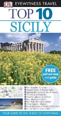 DK Eyewitness Top 10 Travel Guide: Sicily - DK Eyewitness Top 10 Travel Guide (Paperback)