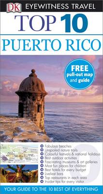 Top 10 Puerto Rico - DK Eyewitness Travel Guide (Paperback)