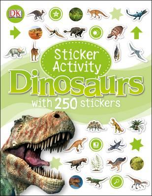 Sticker Activity Dinosaurs - Sticker Activity (Paperback)