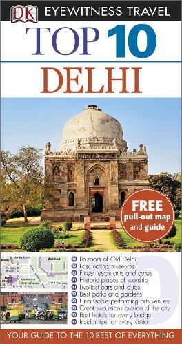 Top 10 Delhi - Pocket Travel Guide (Paperback)