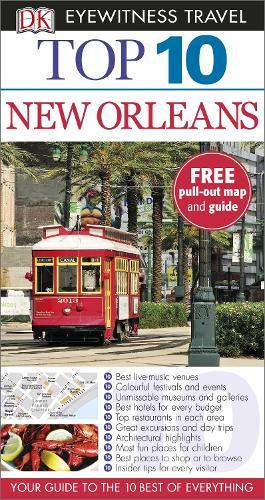Top 10 New Orleans - DK Eyewitness Travel Guide (Paperback)