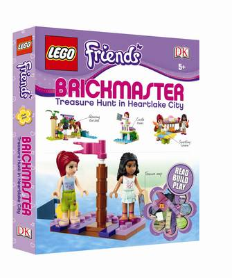 LEGO Friends Brickmaster: Treasure Hunt in Heartlake City (Hardback)