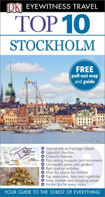 DK Eyewitness Top 10 Travel Guide: Stockholm - DK Eyewitness Top 10 Travel Guide (Paperback)