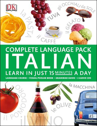 Complete Language Pack Italian: Learn in Just 15 Minutes a Day