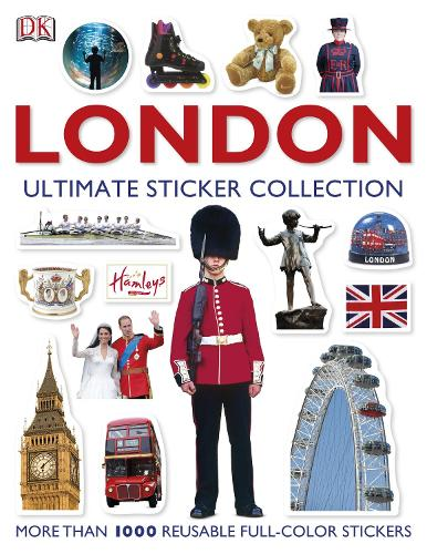 London: Ultimate Sticker Collection - DK Eyewitness Travel Guide (Paperback)