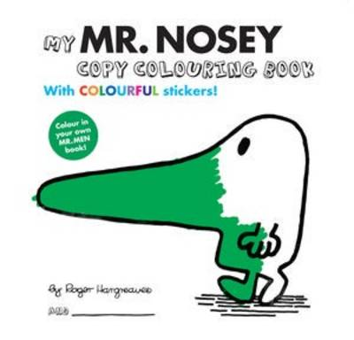 Mr Men Colour Your Own Mr Nosey (Paperback)