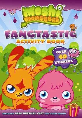 Moshi Monsters Fangtastic Activity Book with Stickers - Moshi Monsters (Paperback)