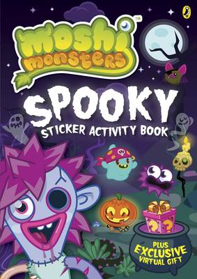 Moshi Monsters: Spooky Sticker Activity Book (Paperback)
