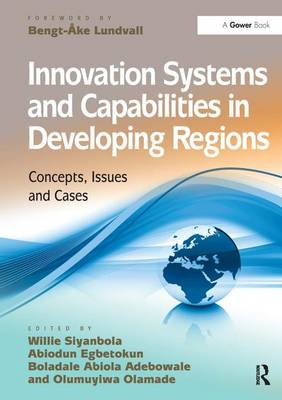 Innovation Systems and Capabilities in Developing Regions: Concepts, Issues and Cases (Hardback)