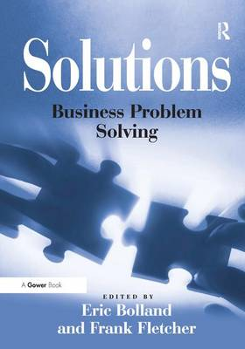 Solutions: Business Problem Solving (Hardback)