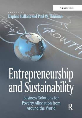 Entrepreneurship and Sustainability: Business Solutions for Poverty Alleviation from Around the World (Hardback)