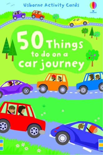 50 Things to Do on a Car Journey - Activity and Puzzle Cards