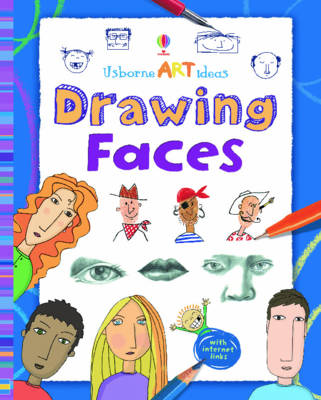 Art Ideas Drawing Faces Spiral Bound Edition - Art Ideas (Paperback)