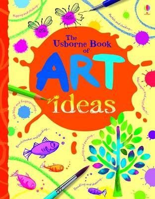The Usborne Book of Art Ideas Mini Spiral Bound - Art Ideas (Paperback)