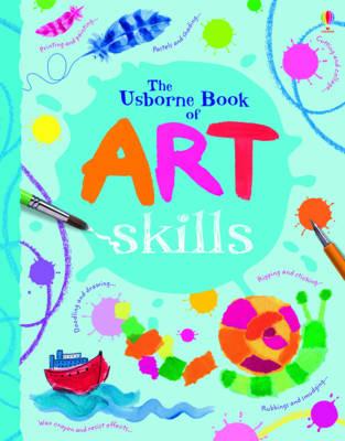 The Usborne Book of Art Skills Mini Spiral Bound - Art Ideas (Hardback)