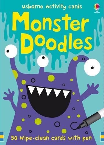 Monster Doodles - Activity and Puzzle Cards