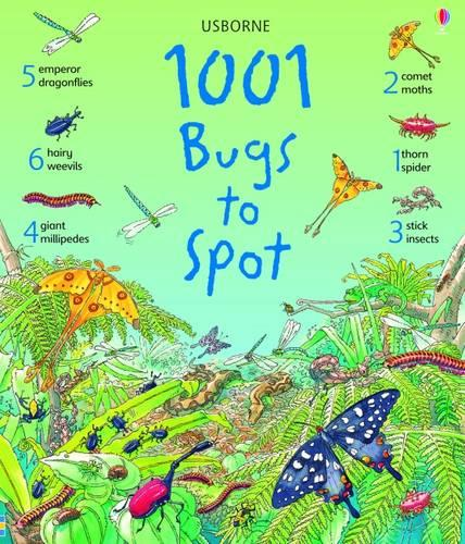 1001 Bugs Things to Spot - 1001 Things to Spot (Hardback)
