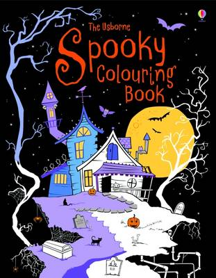 Spooky Colouring Book (Paperback)