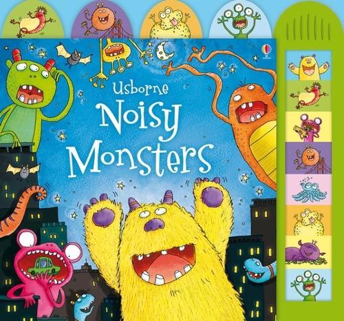 Noisy Monsters - Noisy Books (Board book)
