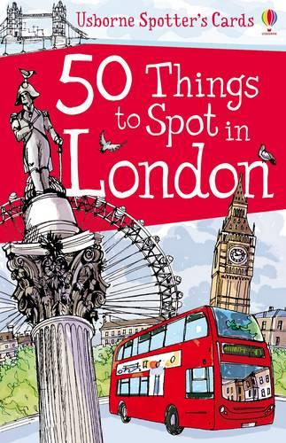 50 Things to Spot in London - Spotters Activity Cards