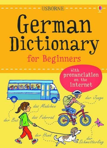 Usborne German Dictionary For Beginners (Paperback)
