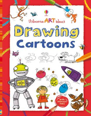 Drawing Cartoons - Art Ideas (Hardback)