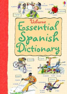 Essential Spanish Dictionary - Usborne Essential Languages (Paperback)