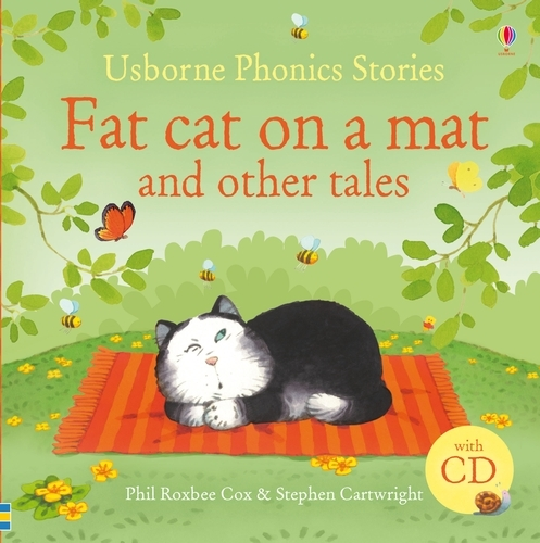Fat cat on a mat and other tales + CD - Phonics Story Collections (Hardback)