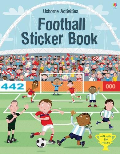 Football Sticker Book (Paperback)