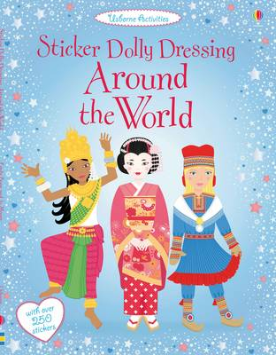 Sticker Dolly Dressing Around the World - Sticker Dolly Dressing (Paperback)