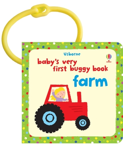 Baby's Very First Buggy Book Farm - Buggy Book