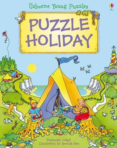 Young Puzzles Puzzle Holiday - Young Puzzles (Hardback)