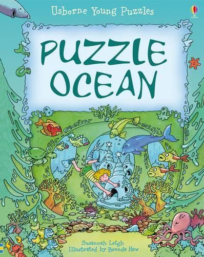 Puzzle Ocean - Usborne Young Puzzles (Hardback)