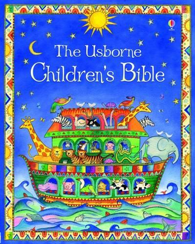 Cover of the book, The Usborne Children's Bible.
