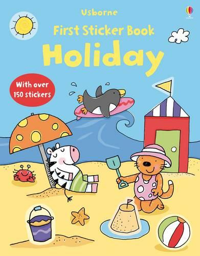 My First Sticker Book: Holiday - First Sticker Books (Paperback)