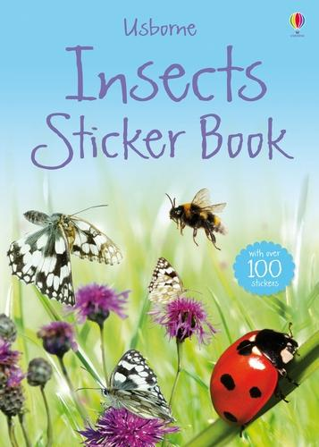 Insects Sticker Book (Paperback)