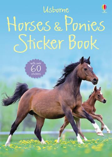 Spotter's Sticker Guides: Horses and Ponies (Paperback)