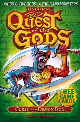 Quest of the Gods Book 2: Curse of the Demon Dog - I Can Read (Paperback)