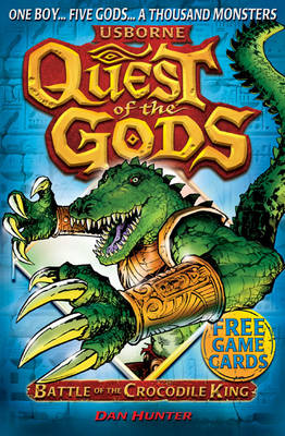 Battle of the Crocodile King - Quest of the Gods 03 (Paperback)