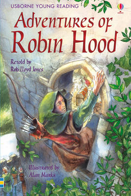 The Adventures of Robin Hood - 3.2 Young Reading Series Two (Blue) (Hardback)