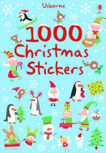 1000 Christmas Stickers - 1000 Stickers (Paperback)