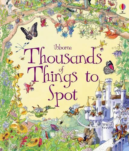 Thousands of Things to Spot - 1001 Things To Spot (Hardback)