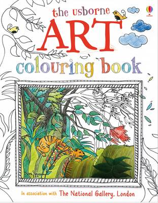 Art Colouring Book - Art Books (Paperback)