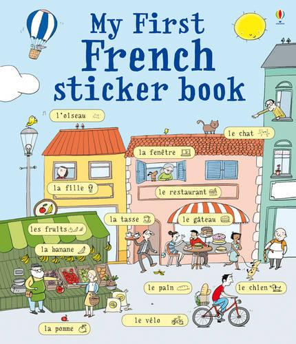 My First French Sticker Book (Paperback)