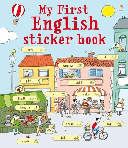 My First English Sticker Book (Paperback)